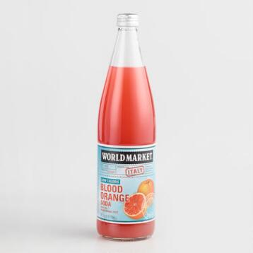 World Market® Low Calorie Blood Orange Soda