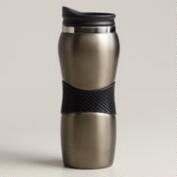 Gunmetal Gripper Travel Mug