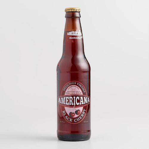 American Black Cherry Soda