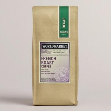12-oz. World Market® Decaf French Roast Coffee, Set of 6