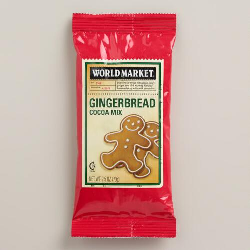 World Market® Gingerbread Cocoa Packet, Set of 3