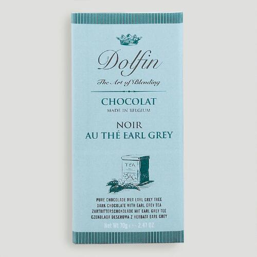Dolfin Earl Grey Dark Chocolate Bar