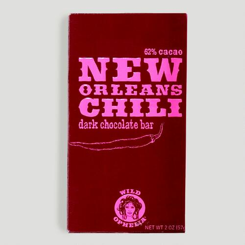 Wild Ophelia New Orleans Chili Chocolate Bar