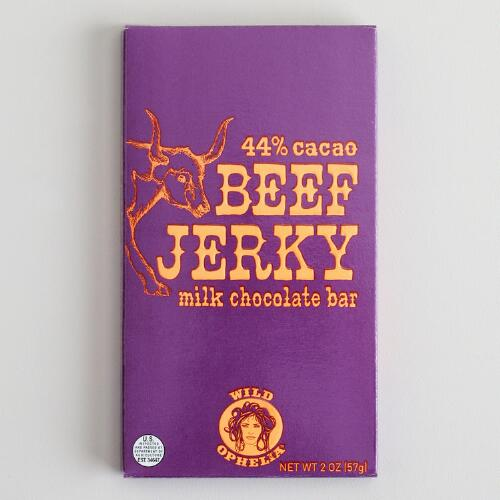 Wild Ophelia Beef Jerky Chocolate Bar