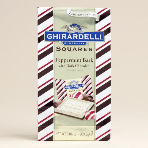 Ghirardelli 60% Cacao Dark-Chocolate Peppermint Bark Bag