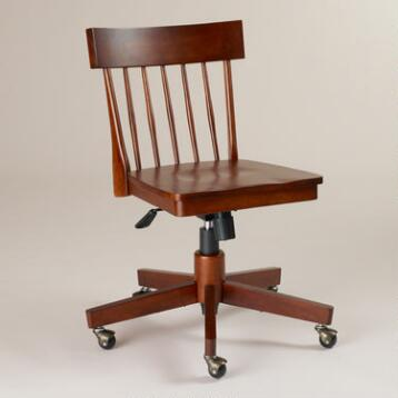Mahogany Konrad Office Chair
