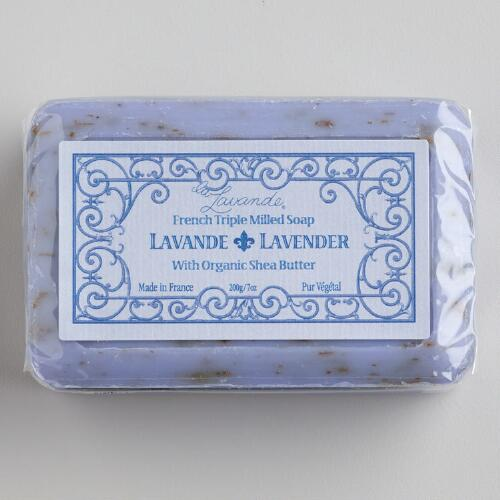 La Lavande Lavender Bar Soap