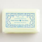 La Lavande Pear Apple Bar Soap