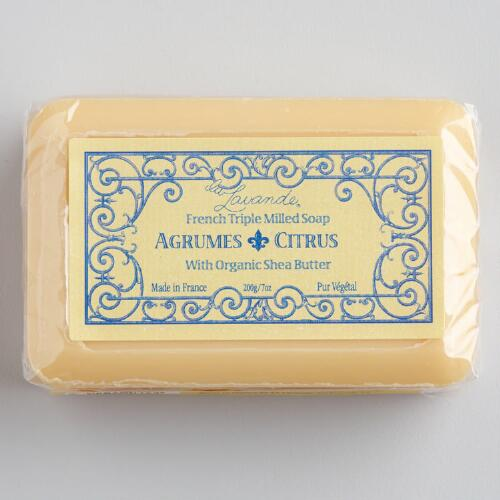 La Lavande Citrus Bar Soap