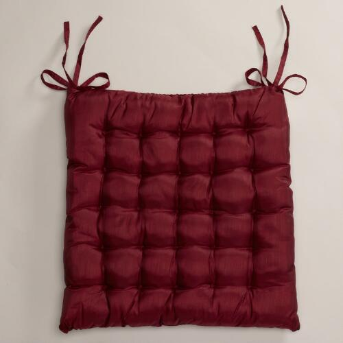 Rio Red Zen Chair Cushion