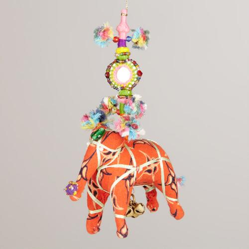 Kalbelia Elephant Hanging Decor