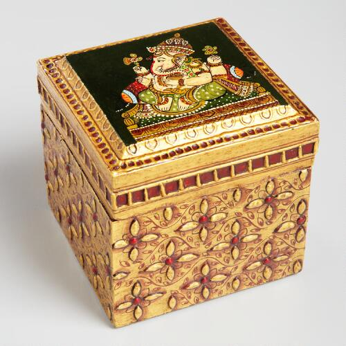 Square Ganesha Box