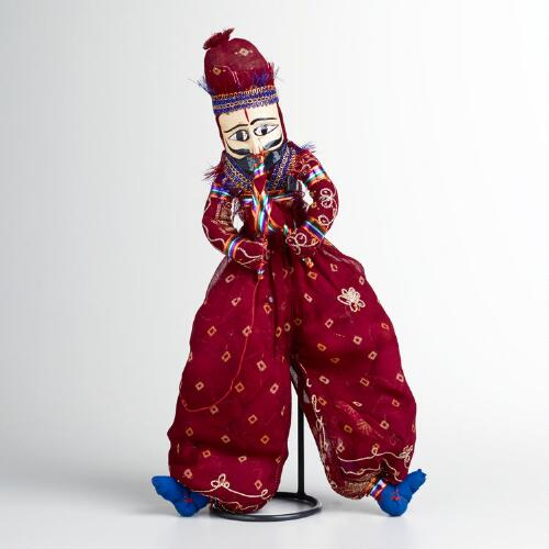 Small Male Snake Charmer Puppet