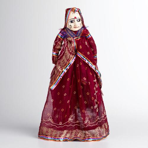 Small Female Snake Charmer Puppet