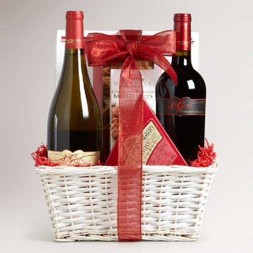 3 Girls 2-Bottle Gift Basket