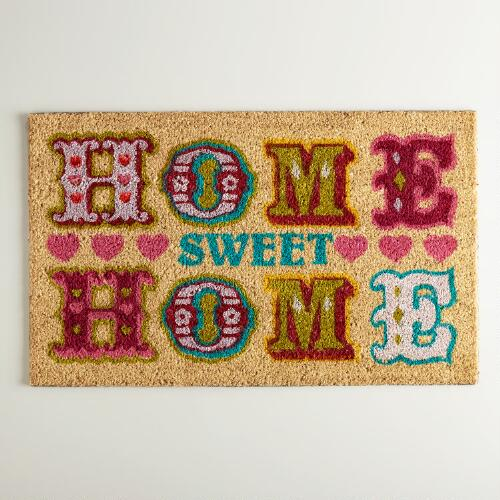 Home Sweet Home Doormat