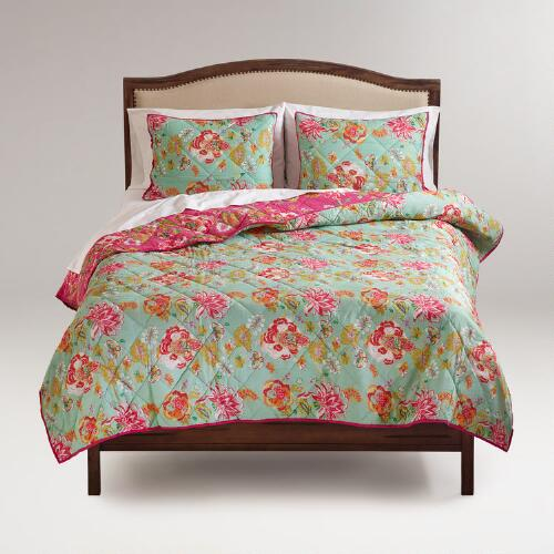 Floral Audrey Reversible Bedding Collection