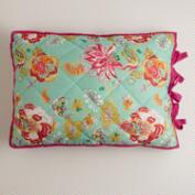 Floral Audrey Reversible Pillow Shams, Set of 2
