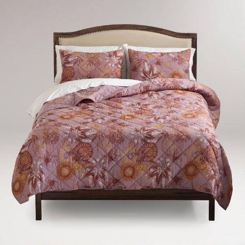 Olivia Reversible Bedding Collection