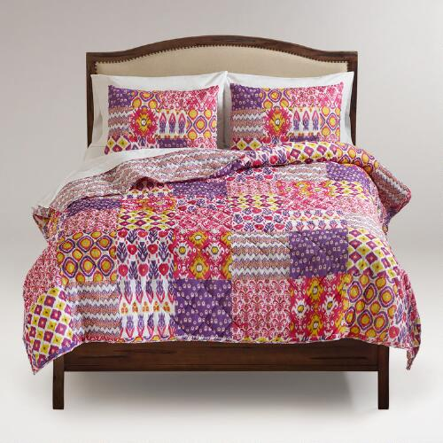 Ikat Asha Reversible Bedding Collection