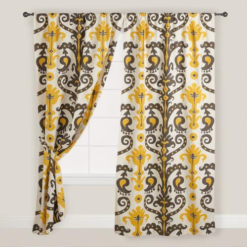 Nepenthe Printed Curtain