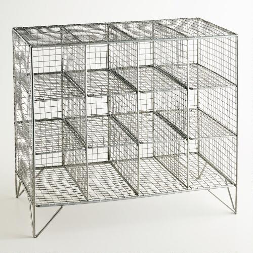 Mesh Grid Wine Rack