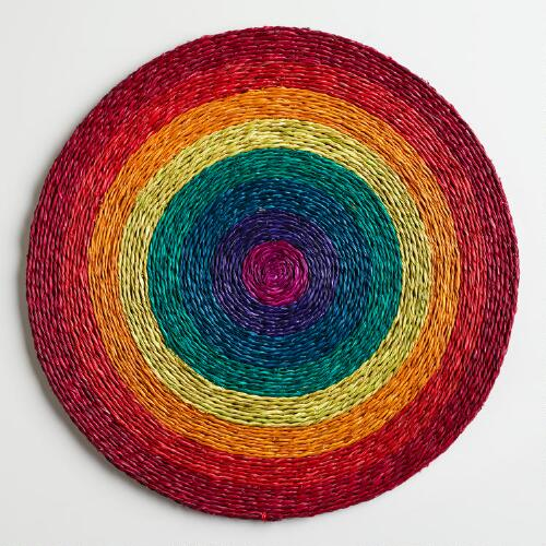 Rainbow Placemats, Set of 2