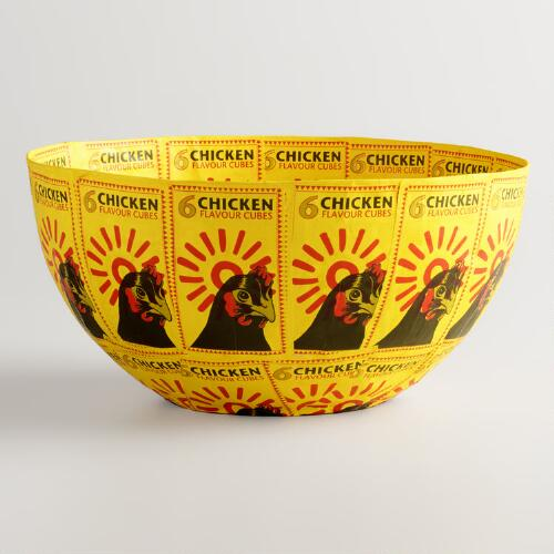 Large Chicken Bullion Bowl