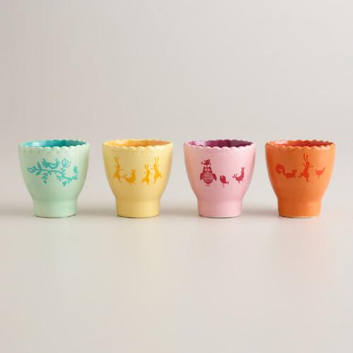 Easter Egg Cups, Set of 4