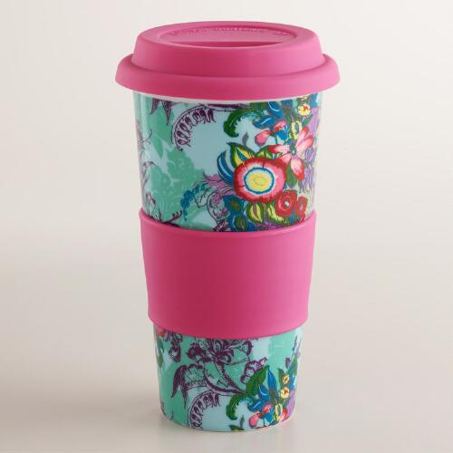 Victorian Floral Non-Paper Cup