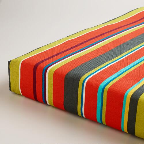 Harbor Stripe Outdoor Chair Pad