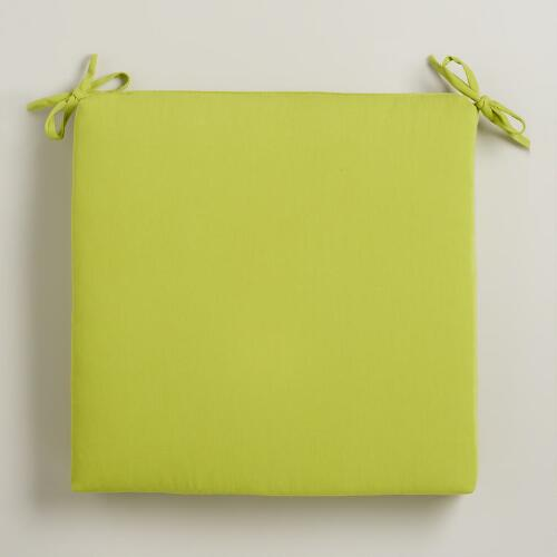 Apple Green Outdoor Chair Pad