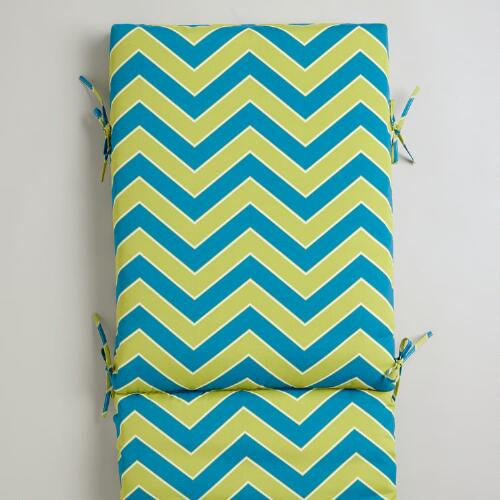 Cool Chevron Pool Lounger Cushion