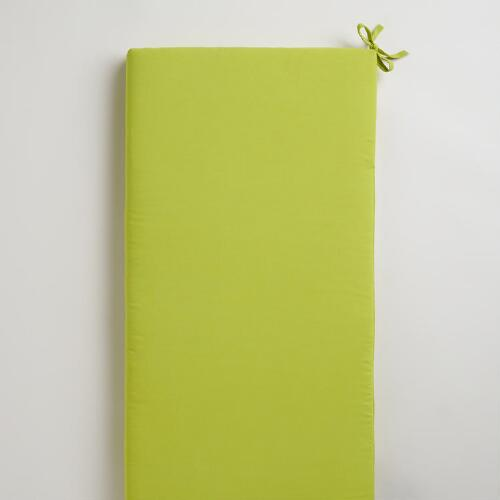 Apple Green Outdoor Bench Pad
