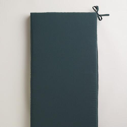 Gray Outdoor Bench Pad