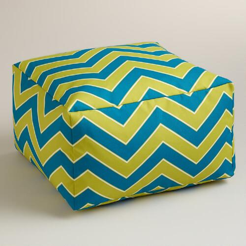 Cool Chevron Outdoor Ottoman
