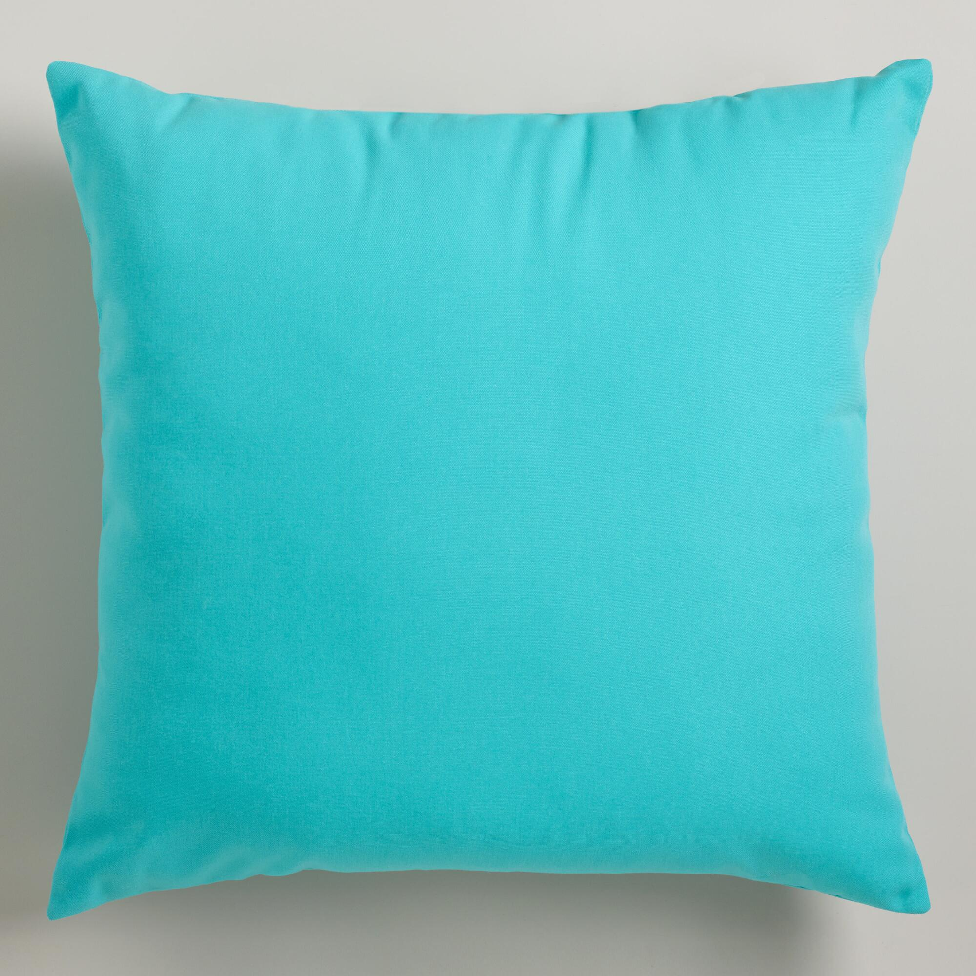 Decorative Pillows In Turquoise : Turquoise Decorative Pillows