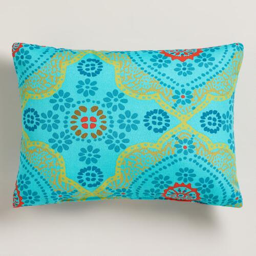 Mosaic Outdoor Lumbar Pillow