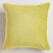Oasis Cotton Velvet Throw Pillows