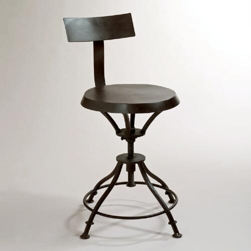 Chase Stool with Removable Back