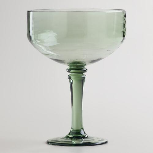 Acrylic Margarita Glasses, Set of 2