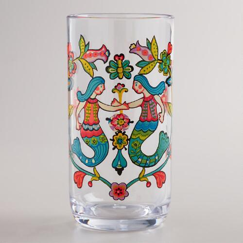 Mermaid Tumblers, Set of 2