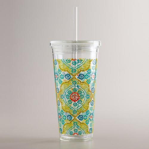Mosaic Double Wall Tumbler