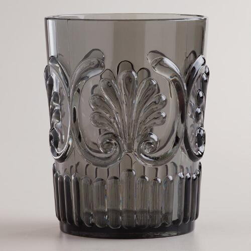 Gray Pacific Tumblers, Set of 2