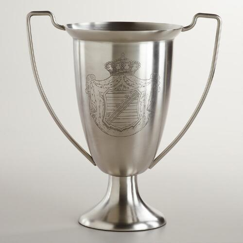 "10.5"" Etched Trophy Vase"