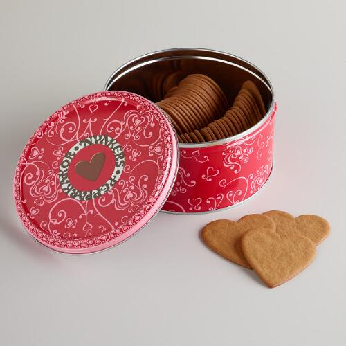 Nyakers Gingerhearts Tin