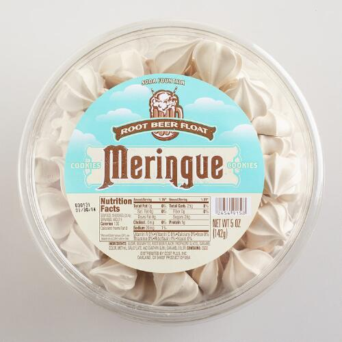 Root Beer Float Meringues