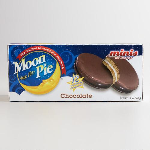 Chocolate Mini MoonPies, 12-Count
