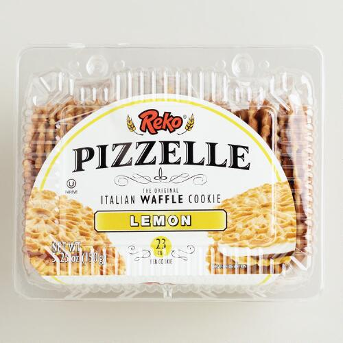 Reko Lemon Pizzelle Cookies
