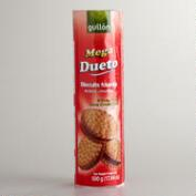 Gullon Mega Dueto Chocolate Cream Sandwich Cookies